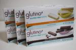 グルテンフリーのサクサクウェハース・レモンクリーム&チョココーティング【Glutino】