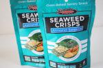 海苔&アーモンドの薄焼き煎餅風ヘルシースナック【Seapoint Farms】