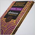 オーガニック&ダークなのに食べやすい板チョコ【Artisana】