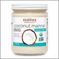 濃厚なココナッツバター「Coconut Mannaココナッツマンナ」【Nutivaヌティバ】