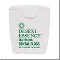 ティートゥリーオイルのデンタルフロス Desert Essence