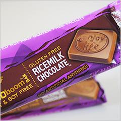 ライスミルクチョコレートがなめらかでおいしい!【Enjoy Life Foods】