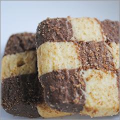 小麦アレルギーの息子も大丈夫、ヒトツブ小麦のめちゃうまチェッカーボードクッキー