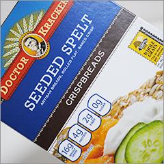 グルテン不耐症・小麦アレルギーの救世主!オーガニックスペルト小麦のクラッカー
