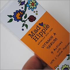 マッドヒッピーの二番人気商品ビタミンAセラムもやっぱりいい!