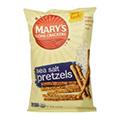 小麦不使用、シンプルな味付けのオーガニックプレッツェル【Mary's Gone Crackers】