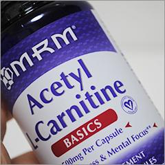 筋トレの疲労回復&脂肪燃焼「カルニチン」を摂取開始