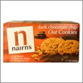 小麦不使用、人工保存料・着色料不使用のチョコチップクッキー【Nairn's】
