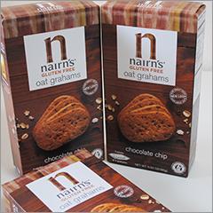 甘さ控えめ、グルテンフリー・ビーガン仕様のヘルシーチョコチップクッキー【Nairn's Inc】