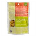 ナビタスの新発売ココナッツチップス・ライムチリ味はクセになる大人の味