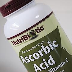 お風呂の塩素対策・カルキ抜きでアスコルビン酸を購入【NutriBiotic】