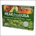 パリッが長持ちする野菜保存袋がスゴイ再利用も可【PEAKfresh USA】