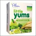 ほんのりリンゴ味、ほうれん草&ケールのオーガニックウェハース【Plum Organics】