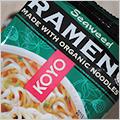 オーガニック古代小麦を使ったラーメン・スープも無添加・味噌豆腐味と海苔味【Koyo Natural Foods】