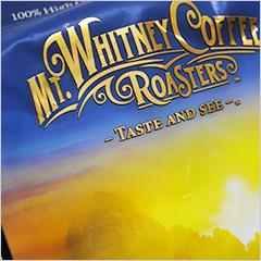 朝シャキ、コーヒー豆を挽いて飲む幸せペルー産オーガニックコーヒーを楽しむ【Mt. Whitney Coffee Roasters】