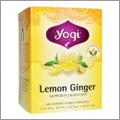 オーガニックのレモンジンジャーティー【Yogi Teaヨギティー】