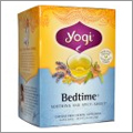 睡眠前の癒し系ハーブティー「Bedtimeベッドタイム」【Yogi Tea】