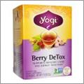 ベリー・ハーブ・スパイスのコラボデトックスティー【Yogi Tea, Berry DeTox】