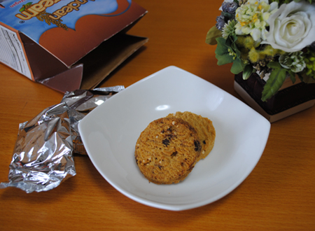 Andean Dream, Quinoa Cookies, Chocolate Chip
